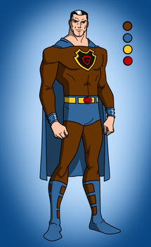 (Public Domain Superheroes) The Gladiator by MidnightOwl07