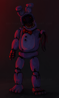 Faceless bunny by GoldenNove