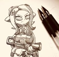 Sketch: Agent8 by esueneu