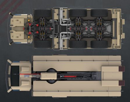 Firefight Truck: Top and Bottom by sasa454