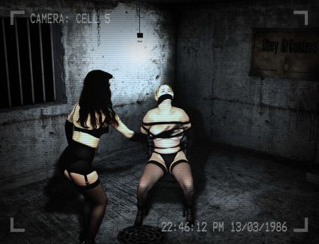 Caught on CCTV being tortured in the cells by AlaisPeach