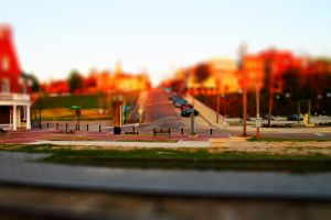 Tilt Shift Downtown by Rebelmoon