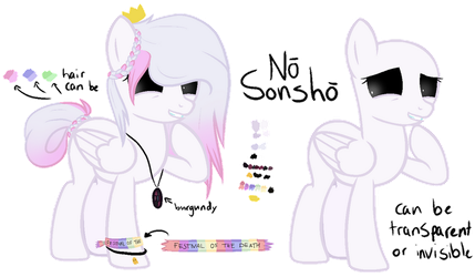 no sonsho - reference sheet by doodledlott