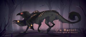 [CLOSED] Adopt Auction - Q'A RAVIEL by Terriniss