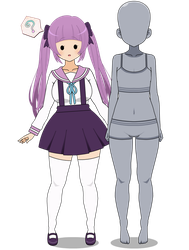 PKM-Gijinka: Ditto-fy Collab {CLOSED} by SakuraRoseLily