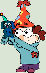 CONTEST ENTRY: Dopey and Mr. Fluffy by Nerdygirl311