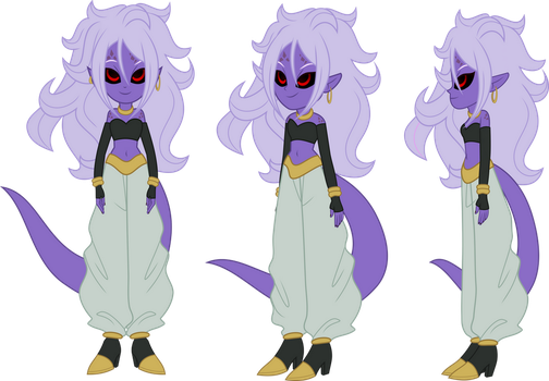 Evil Android 21 (LimeDazzle) by DashieMLPFiM