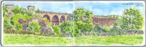 Ouse Valley Viaduct by ThePotatoStabber