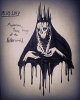 Inktober Day 15: Mysterious  by Hjemi