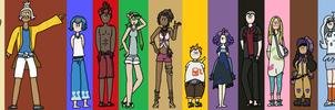 Pokemon Sun and Moon Captains and Kahunas by Adam-P-D