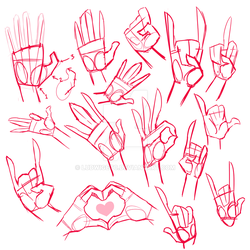 [D] - hand studies by LudwigETC
