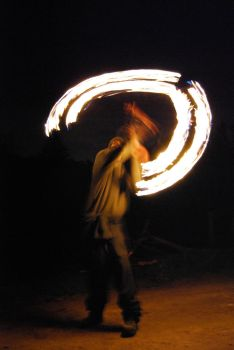 Fire Spinning 2 by Tizera
