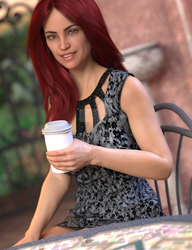 Having Coffee Ldb#1 - dforce by vexiphne