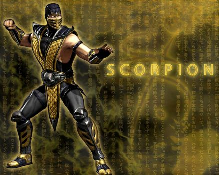 Scorpion Wallpaper -MK vs DC- by Zero-ozx