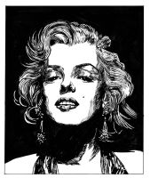 Marilyn by mikefasano
