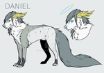 Daniel [refence sheet] by yamad-a