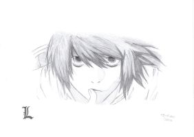 L - Death Note by screamingsnake