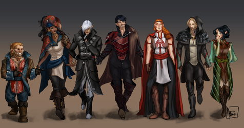 DA2 Formal Outfits by jadenwithwings