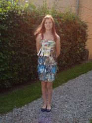 My homemade comic dress:D by zzoffer