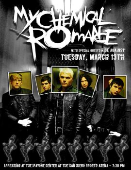 My Chemical Romance poster by empty-set