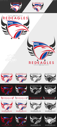 Easy Allies -- Red Eagles -- New Logo 2018 (1.0) by kevboard