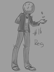 30 character challenge - Reggie by daughter-thursday