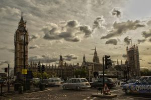 The Clock Tower of Westminster by jellybat