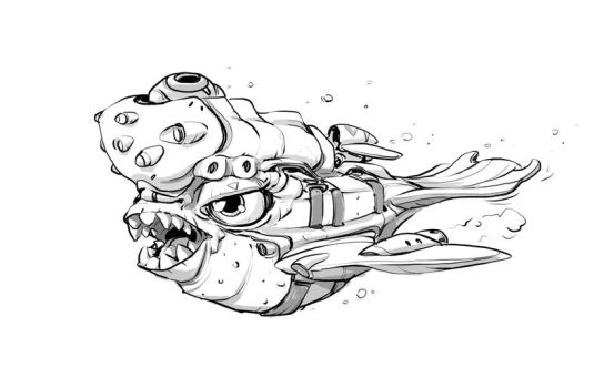 W20171203 Fish doodle by StMan