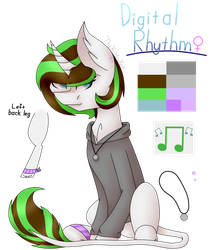 Digital Rhythm Redesign 2 by TheKittyKatUnion