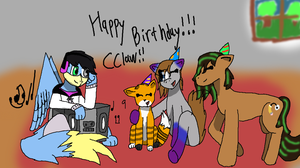 HAPPY BIRTHDAY CCLAW!!! by TheLivingPhenox