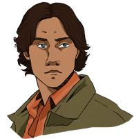 Sam Winchester by TheFlyingScottie
