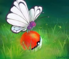 Dropped Pokeball by SFrostWing