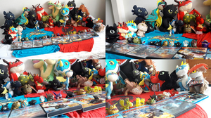 ALL MY MERCHANDISE FOR HTTYD UPDATE #7 by PokeLoveroftheWorld