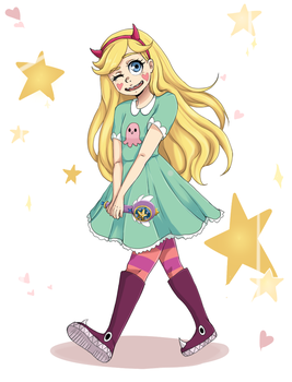 Star Butterfly by T4M4R4DR4W5