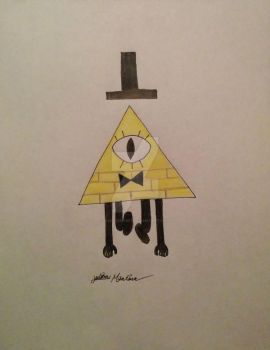 Bill Cipher from Gravity Falls by yahoo201027