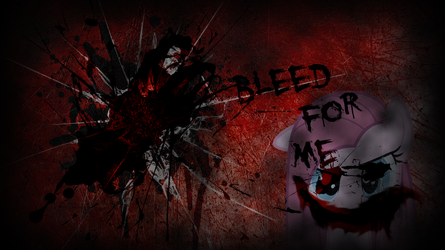 Bleed for me..... by Glitcher007