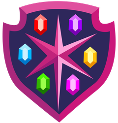 Resource: Elements of Harmony Shield by DragonChaser123