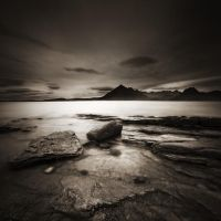 At the Elgol-beach by Kaarmen