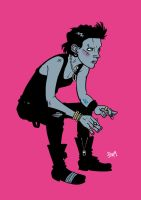 Lisbeth Salander by stayte-of-the-art