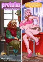 PretaLux: Before and After - Age Change by expansion-fan-comics