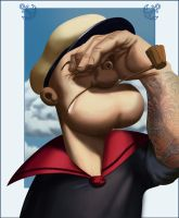 Popeye, the sailor. by bodiego