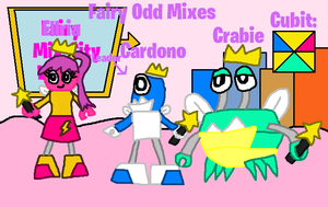 Mixels: OC's tribes: Fairy Odd Mixes by Luqmandeviantart2000