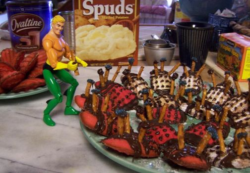 Baking with Aquaman by Lylix
