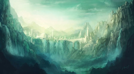 Land of Amazons by jcbarquet