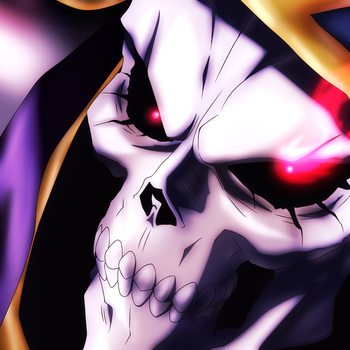 Ainz Ooal Gown Avatar by NovaDarkMadness