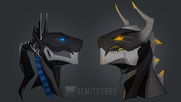 The Journey of Takanuva | Roodaka, Shadowed One by Demitsorou