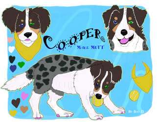 Cooper The Male Mutt- Reference Revamp by kandec