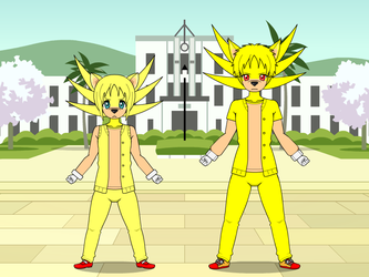 My version(s) of Super Sonic in Kisekae by FlainYesFourzeNo