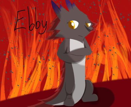 Ebby wallpaper :3 by lucariollie464