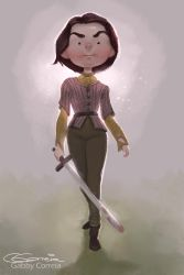 Arya Stark by NightshadeBerry